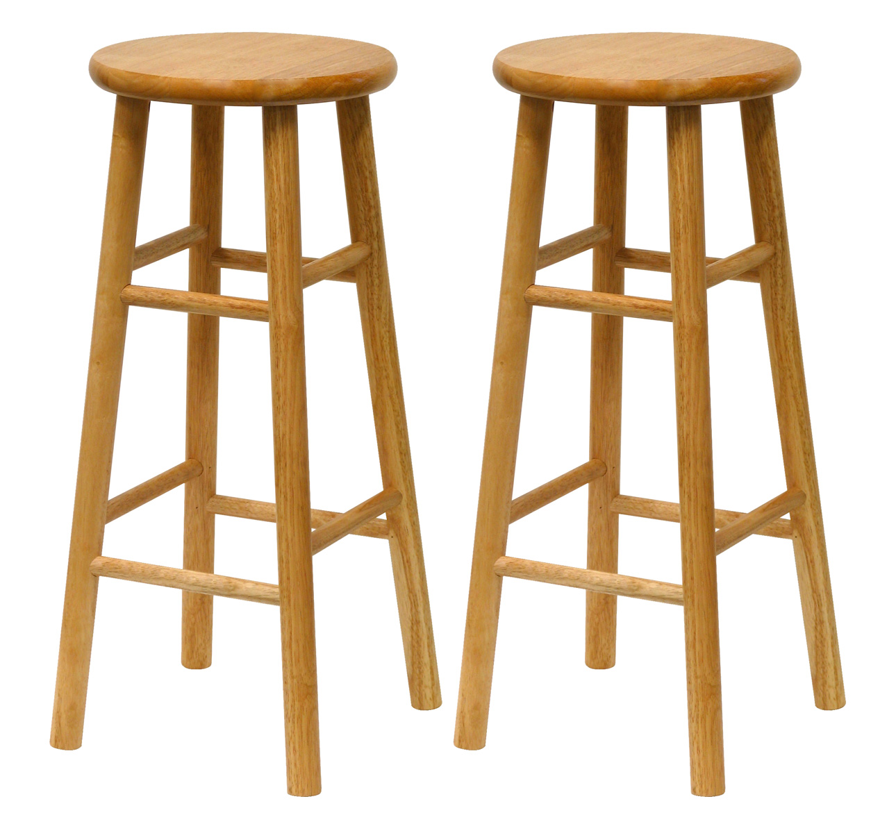Set of 2 Bar Stools by Winsome Trading in Wood Bar Stools : set of 2 bar stools from www.organizeit.com size 1290 x 1200 jpeg 264kB