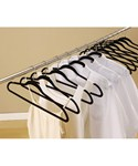 Set of 50 Flock Suit Hangers by OIA