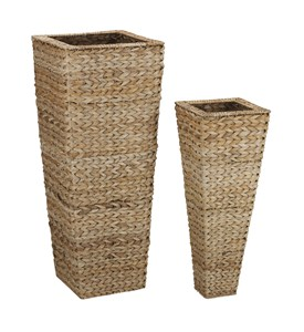 Set of Two Vases - Banana Leaf (Nested) by Household Essentials Image