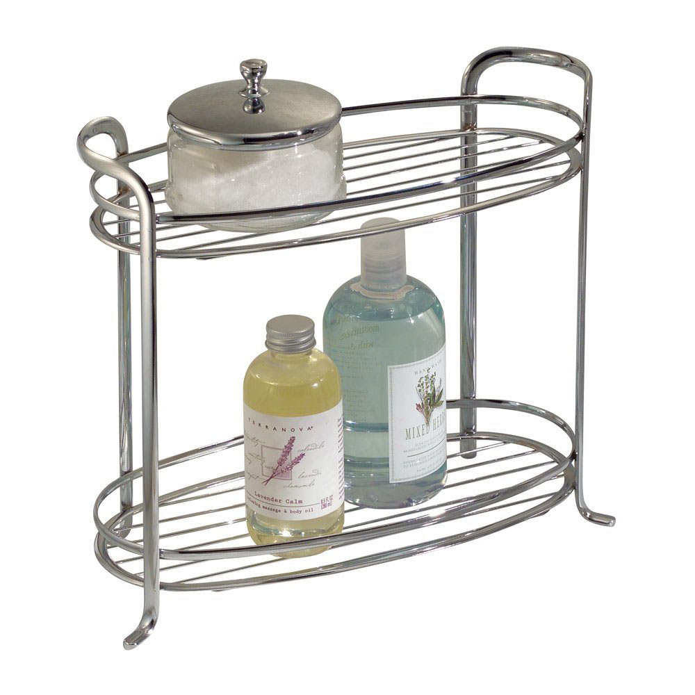 Bath tower two shelf in bathroom organizers for Bathroom organizers