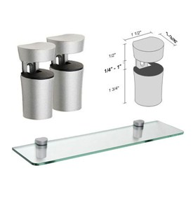 Shelf Bracket Set - Bin by Dolle Image