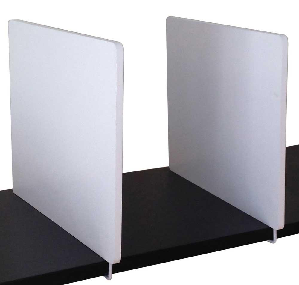 shelf divider set of 2 in shelf dividers