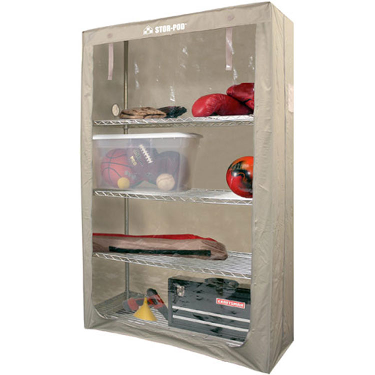 Shelf Enclosure In Shelf Liners And Enclosures