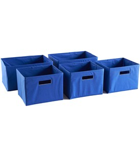 Shelf Storage Bins (Set of 5) Image