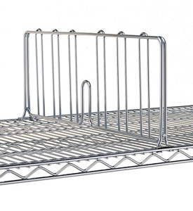 Chrome Intermetro Shelf Divider 18 Inch Image