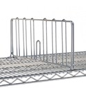 Intermetro Shelf Divider Chrome - 14 Inch