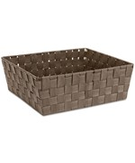 Woven Straps Shelf Storage Tote - Java