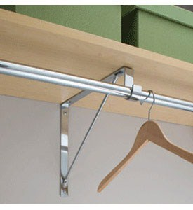 Closet Rod and Shelf Support Bracket Image