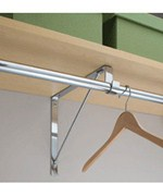 Closet Rod and Shelf Support Bracket