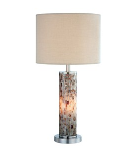 Shell Table Lamp - by Lite Source - LS-21772 Image