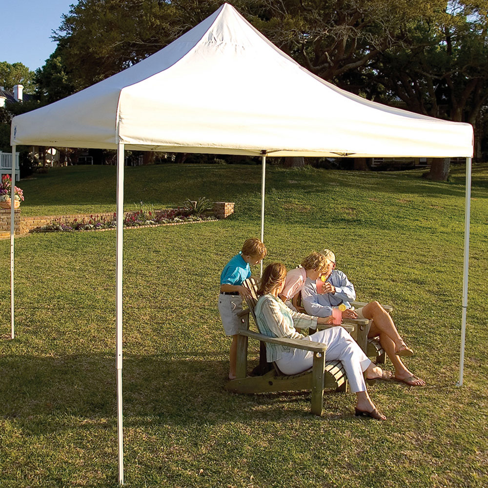 ShelterLogic 10 x 10 Sun Shelter Price $239.99 & Canopies Pop-Up Tents and Sun Shades | Organize-It