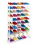 Shoe Rack or Closet Organizer - 50 Pairs of Shoes