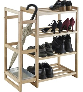 Shoe Rack with Umbrella Stand Image