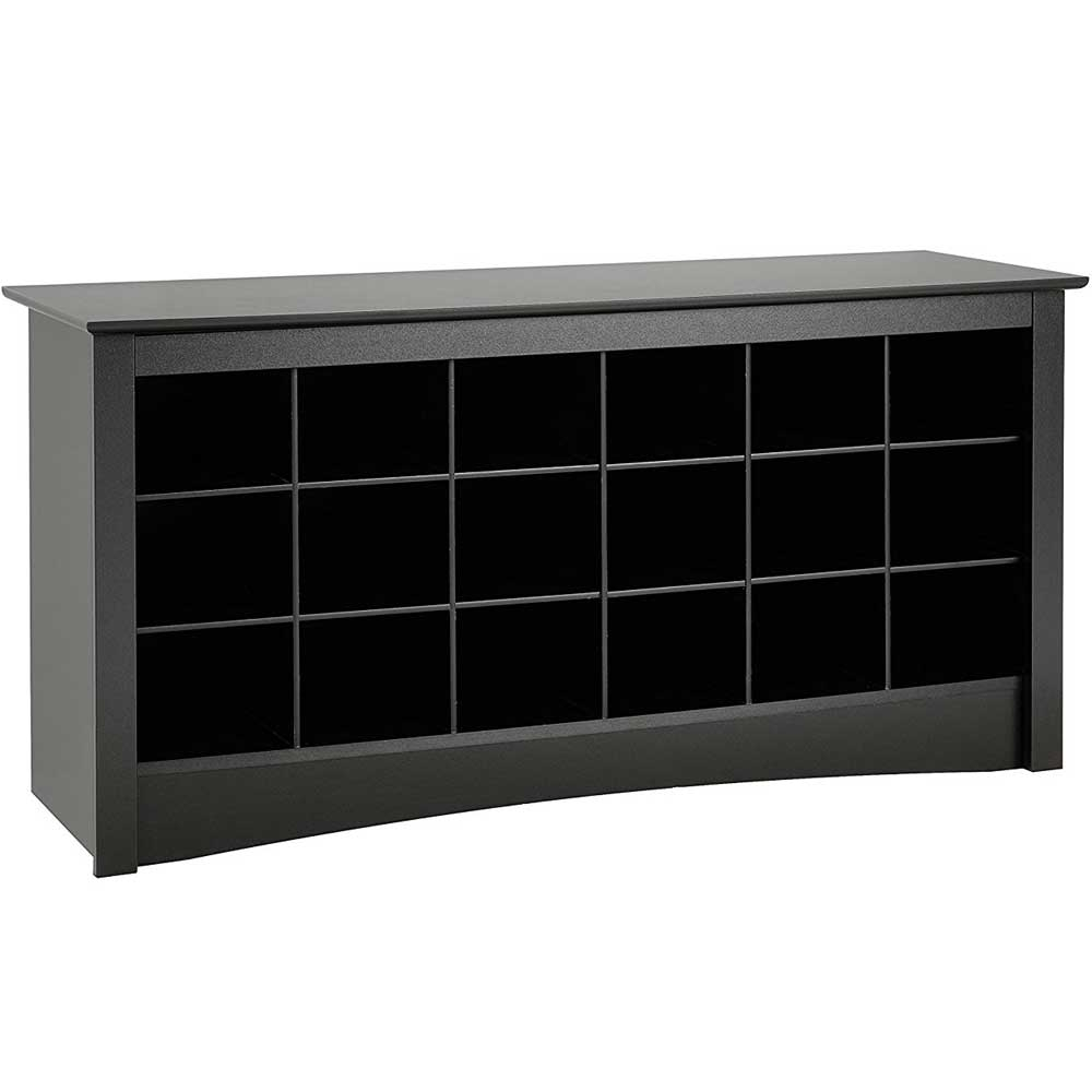 Shoe Storage Bench   Black Price: $203.99