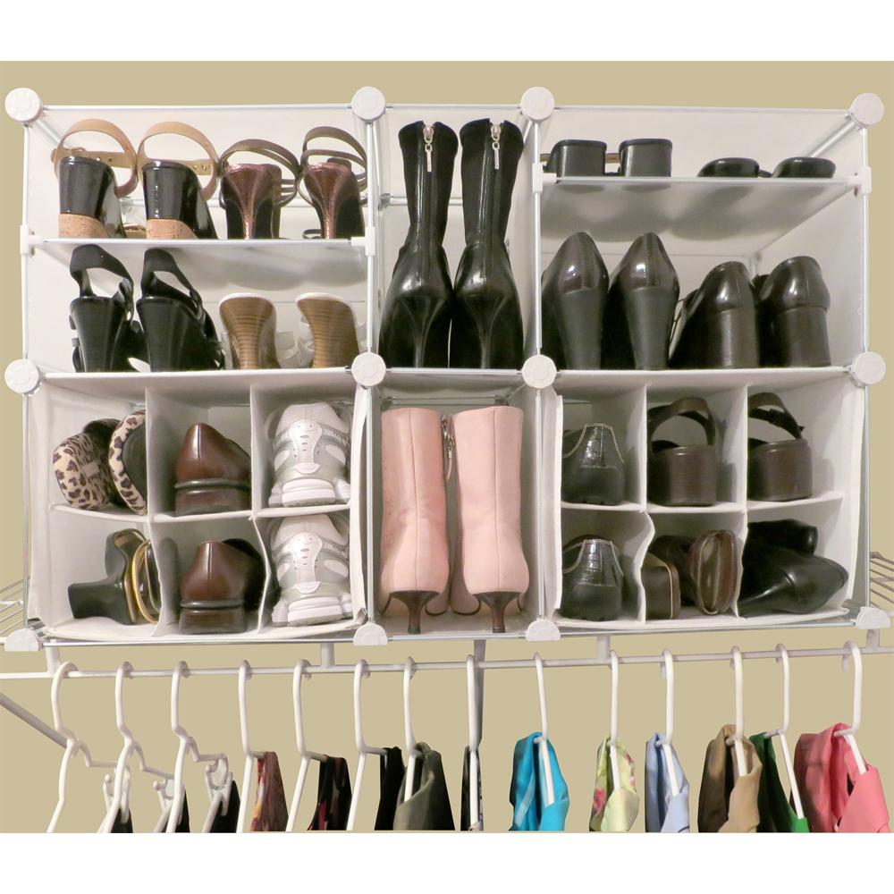 Wardrobe organization archives ask our organizerask our organizer - Types of shoe storage solutions for the bedroom ...