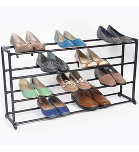 Shoe Storage Rack - Bronze Image