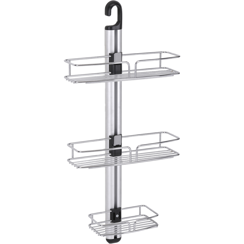 Modern 3-Tier Shower-Bathroom Wall Mount Caddy in Shower Caddies