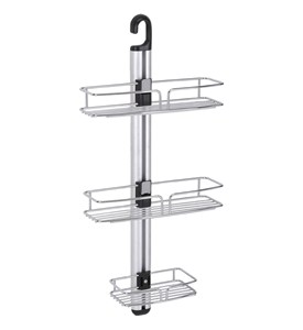 Modern 3-Tier Shower-Bathroom Wall Mount Caddy Image