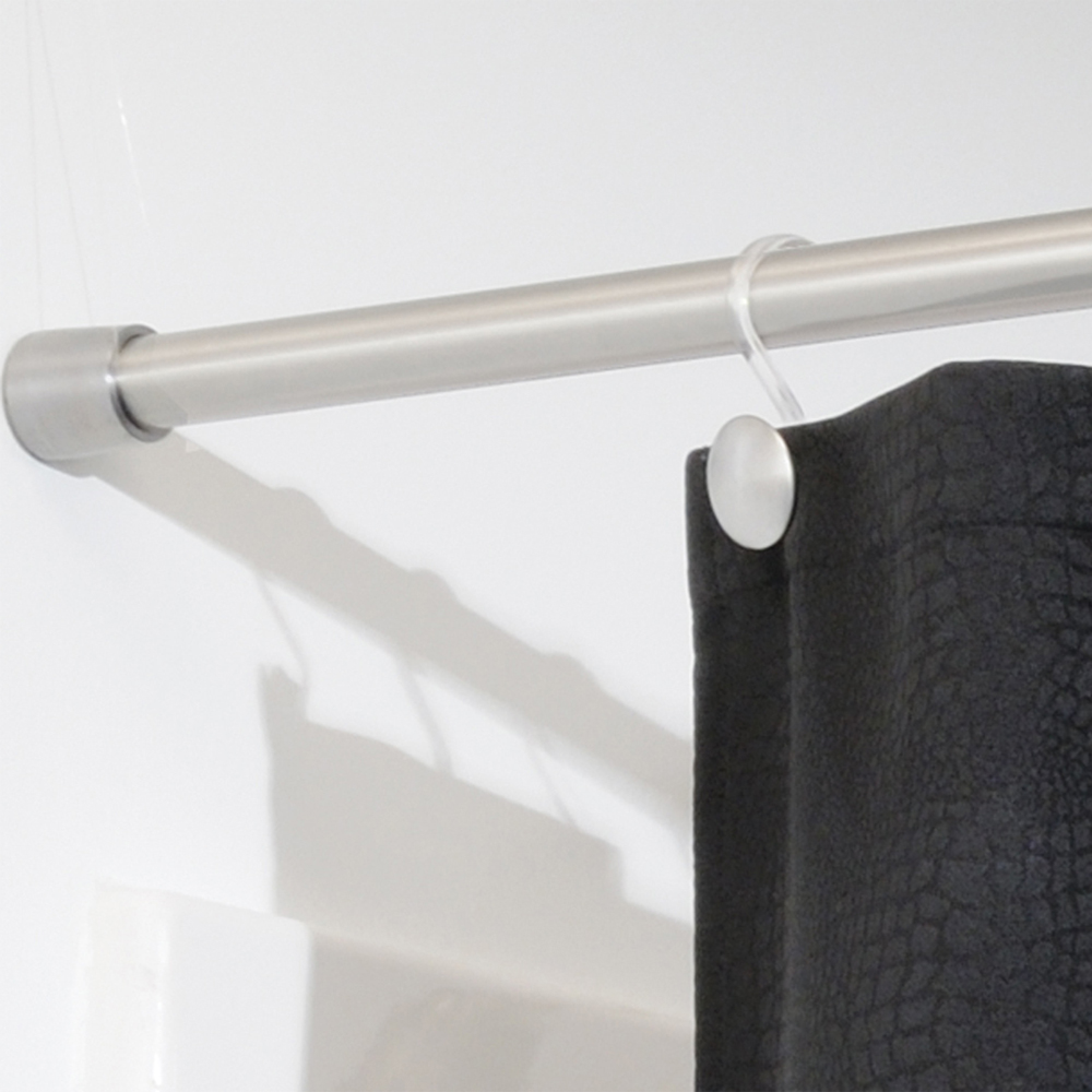 Shower Curtain Tension Rod Extra Large In Shower Rods