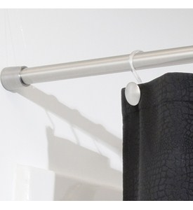 Shower Curtain Tension Rod - Extra Large Image