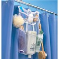 Mesh Shower Rod Organizer