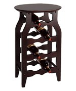 Side Table Wine Rack