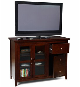 Sierra Highboy TV Stand by Convenience Concepts Image