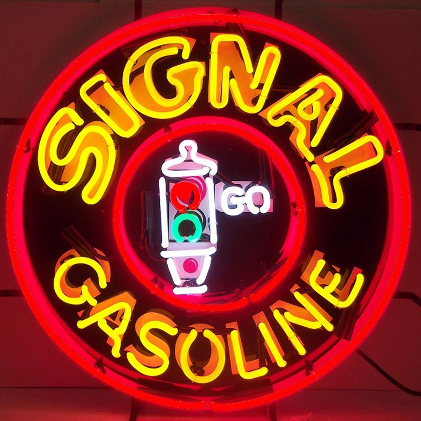 Signal Gasoline Neon Sign by Neonetics in Neon Signs