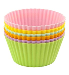 Silicone Muffin Cups - Jumbo (Set of 6) Image