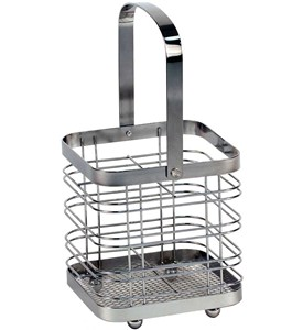 Silver Flatware Caddy Image