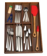 Silverware Drawer Organizer - Seven Sections