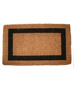 Single Border Mat by Imports Decor