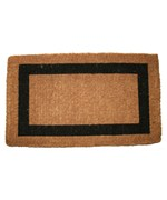 Single Border Welcome Mat by Imports Decor