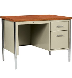 Single Pedestal Desk Image