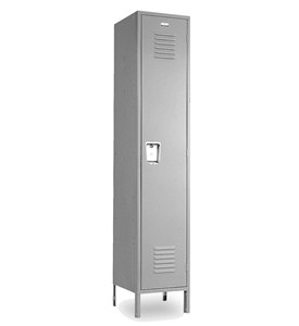 Single Tier Steel Storage Lockers by Penco Products, Inc Image