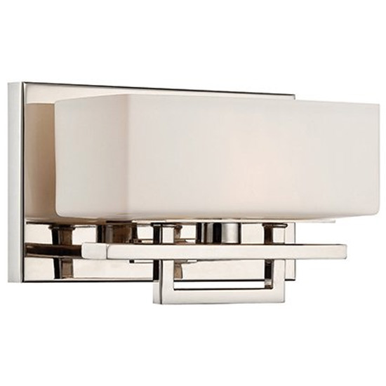 Single Vanity Light - Chrome in Wall Lamps
