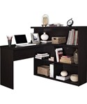 Sit or Stand Desk - Bookcase