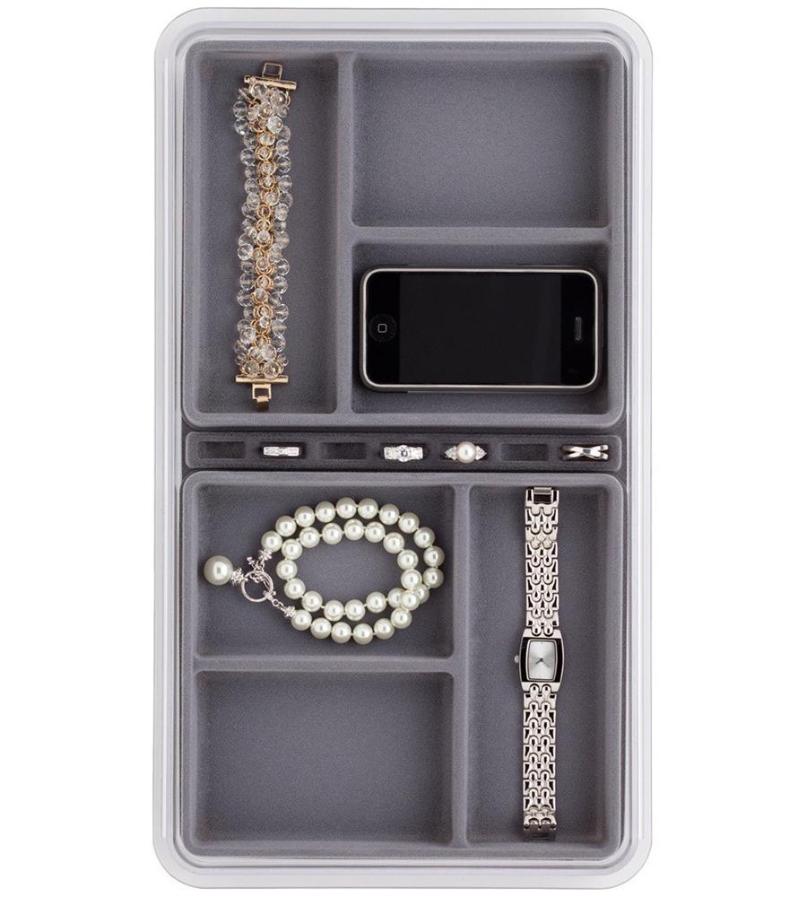 SixCompartment Jewelry Organizer in Jewelry Trays