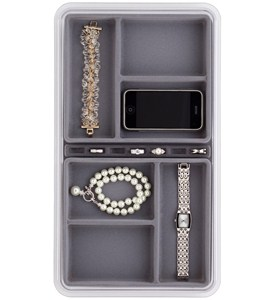 Six-Compartment Jewelry Organizer Image