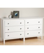 Six Drawer Dresser - Berkshire