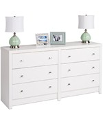 Six-Drawer Dresser - Calla