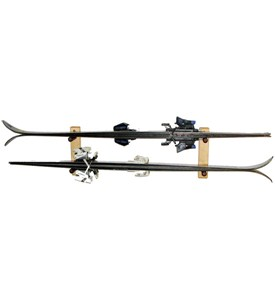 Ski Storage Rack - Pine - Horizontal Image