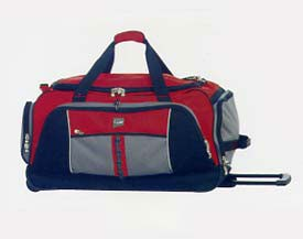 Rolling Duffle Bag with Multi-Pockets - 29 Inch Image
