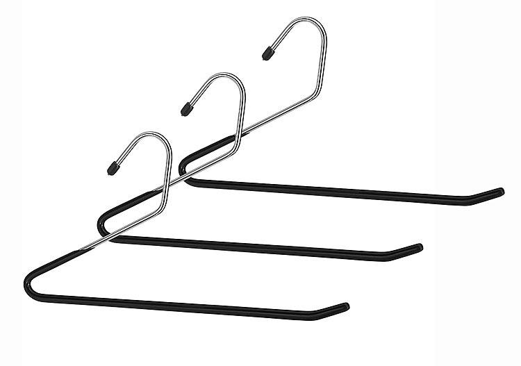 slack hanger in wire hangers