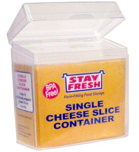 Sliced Cheese Storage Container Image