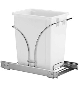 Sliding Cabinet Trash Can - 20 Quart Image