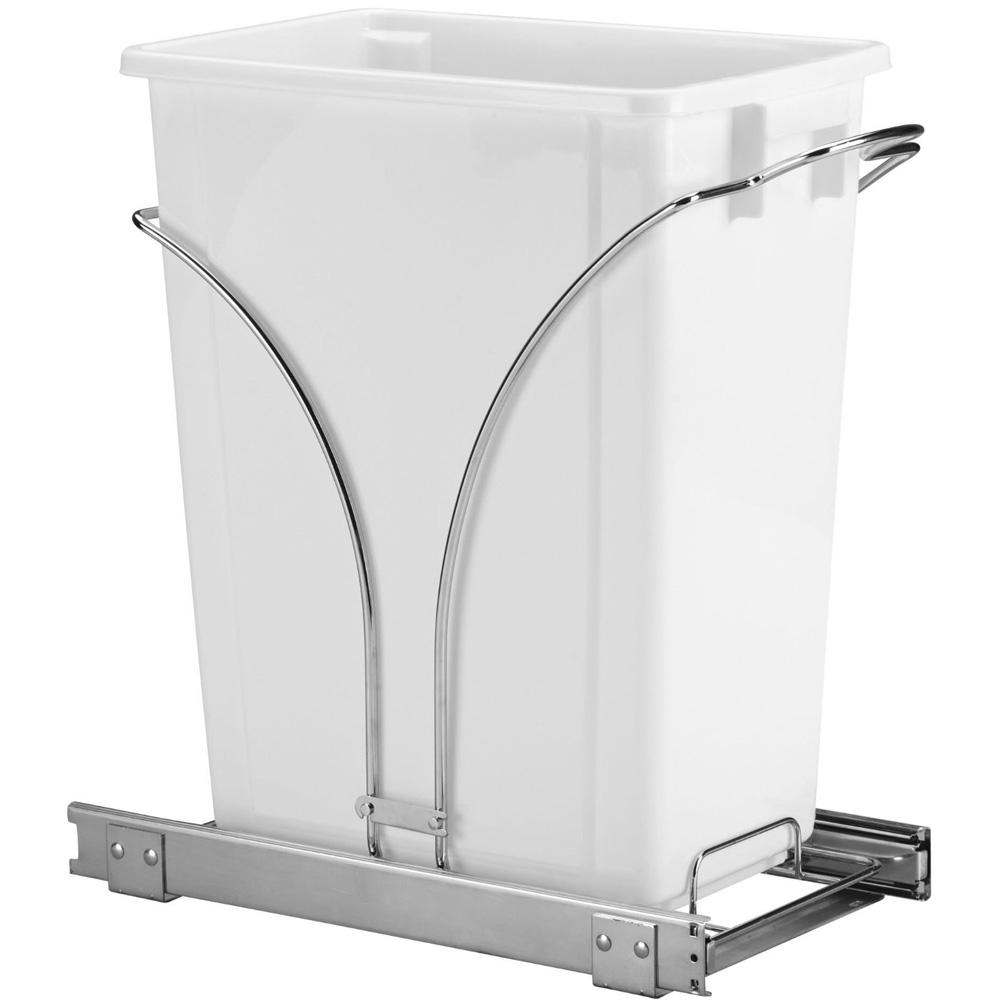 sliding cabinet trash can 36 quart image