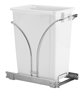 Sliding Cabinet Trash Can - 36 Quart Image