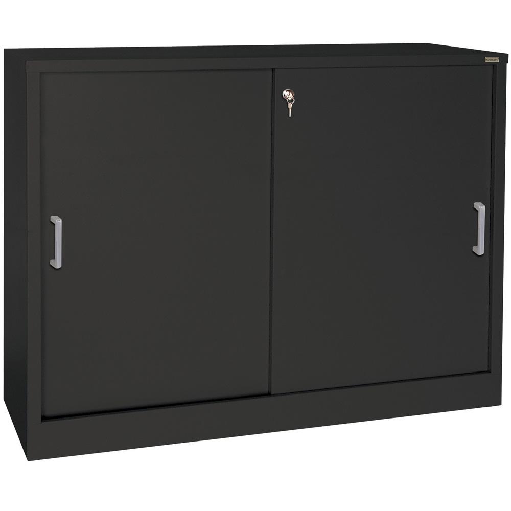29 Inch Exterior Door : Sliding door storage cabinet inch high in