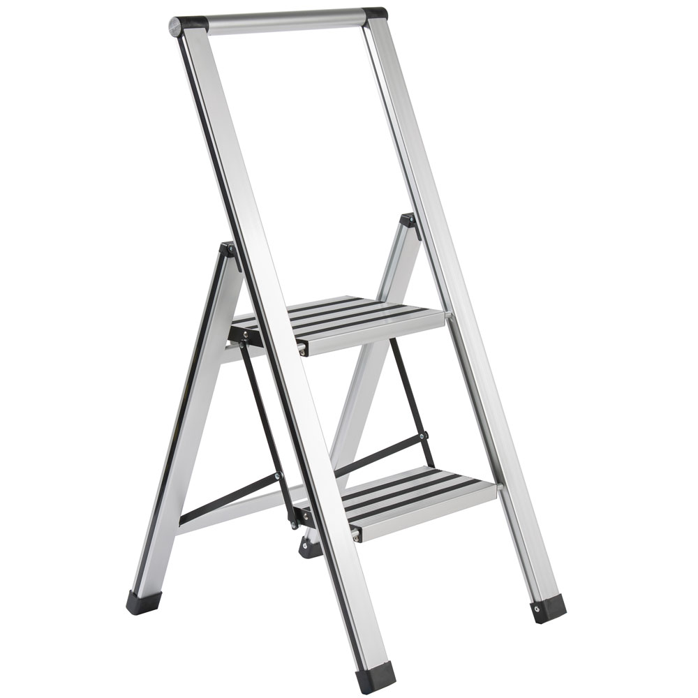 Slim Step Ladder In Step Stools